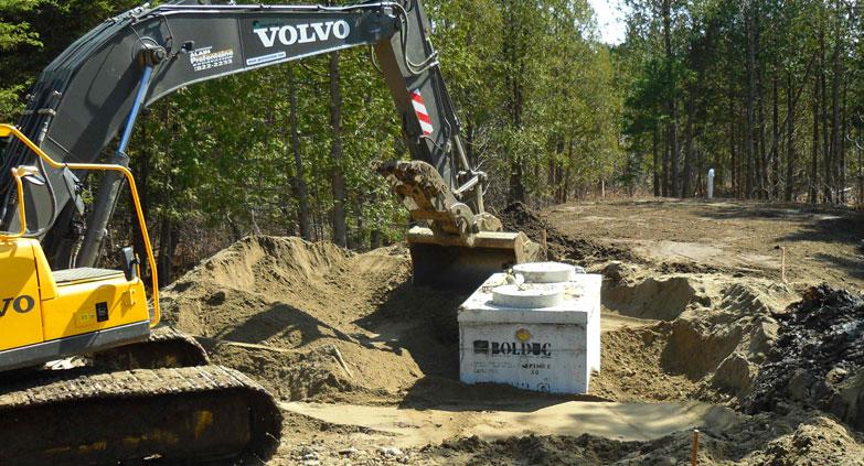 Service d'excavation - Les entreprises Alain Préfontaine