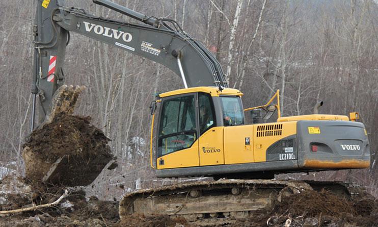 Excavatrice sur chenilles / Catepillar 312CL - Équipements Les entreprises Alain Préfontaine