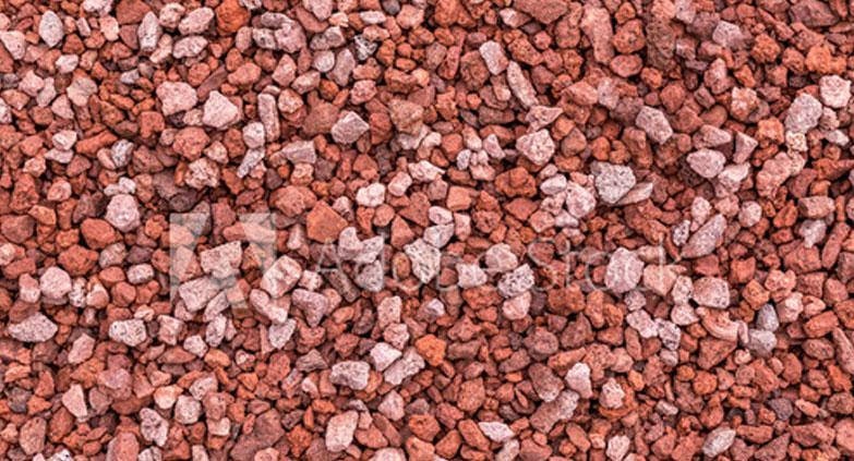 Produit Concassés - La pierre rouge - Les entreprises Alain Préfontaine
